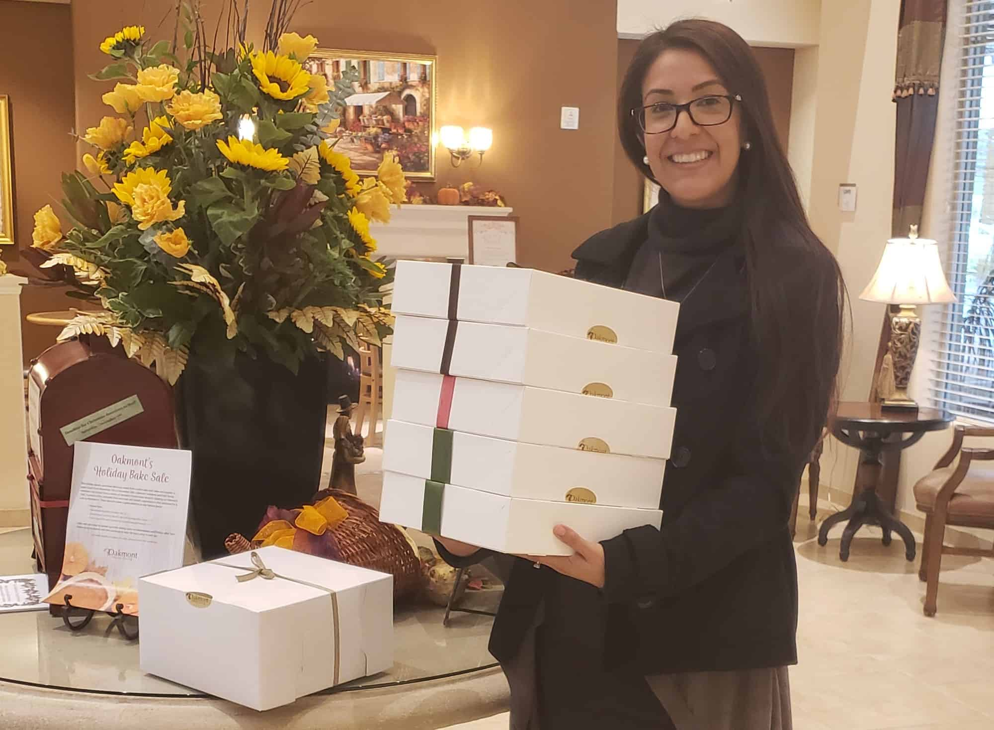 Natalie Delivers Pies on Thanksgiving!