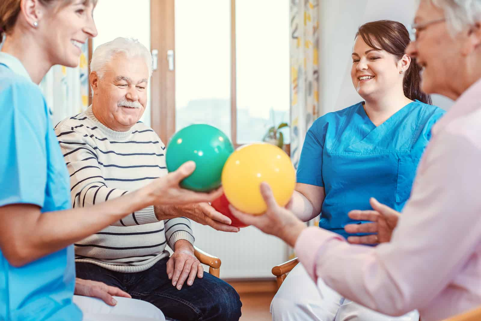 Caregiver Fontana, CA: Seniors and Exercise